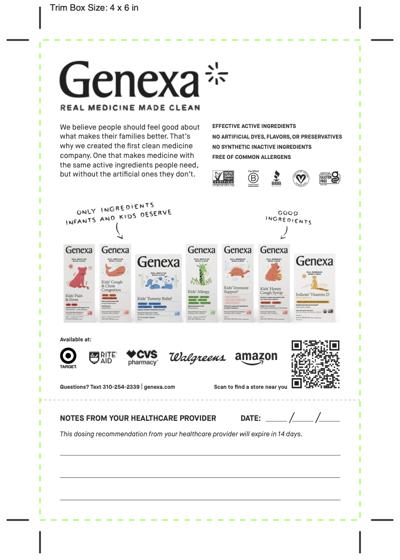 Genexa_HCP Tear Sheet March 2021 (1)